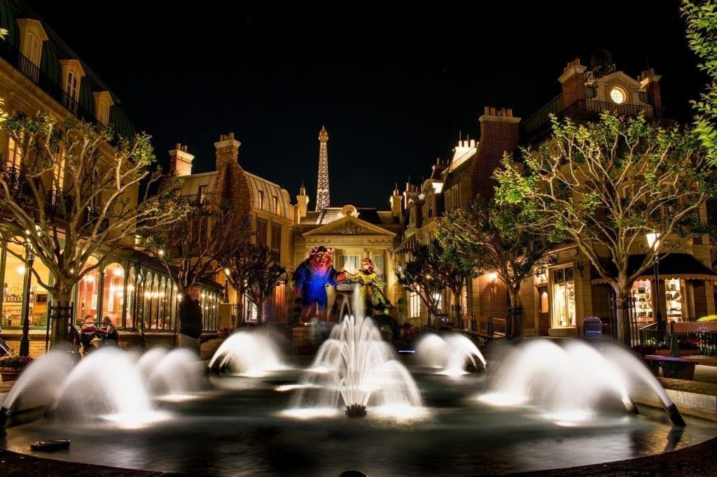 France - Disney in the Rain