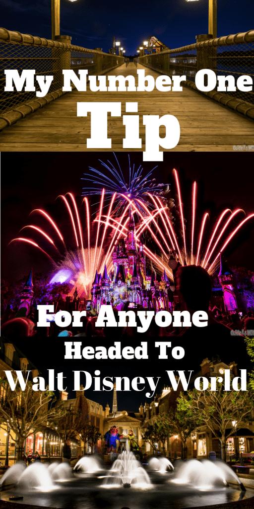 My #1 Tip For Anyone Headed to Walt Disney World