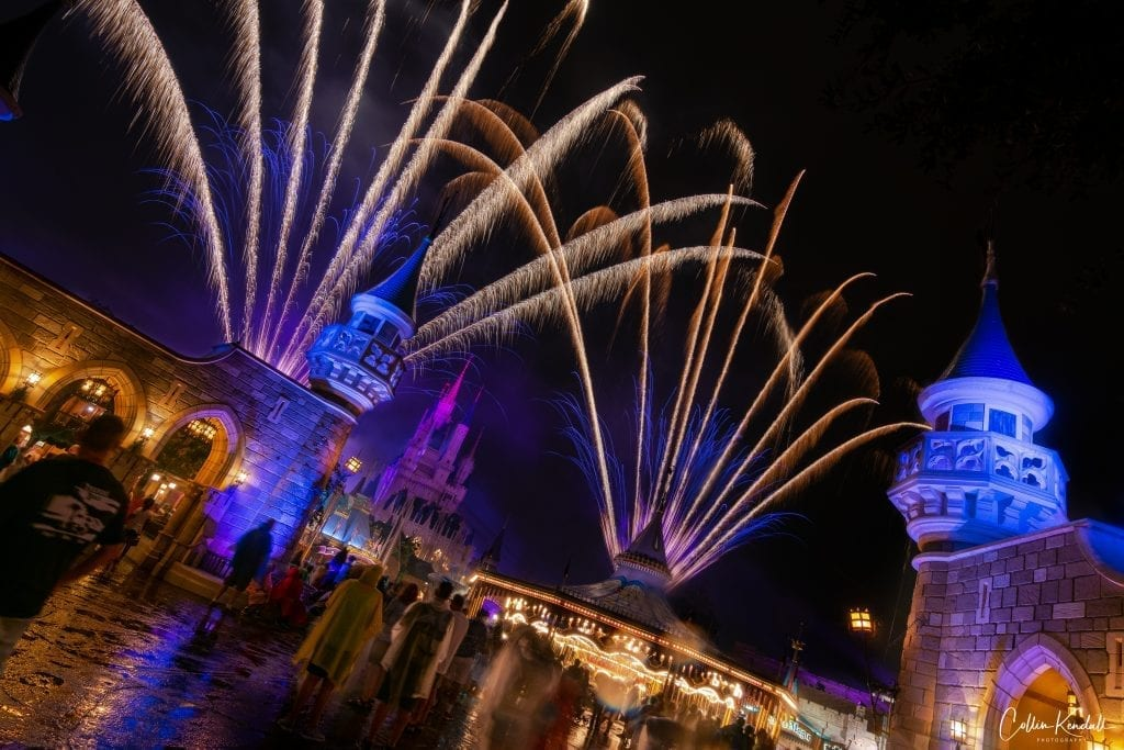 Our Typical Disney World 7 Day Itinerary - Castle Fireworks!