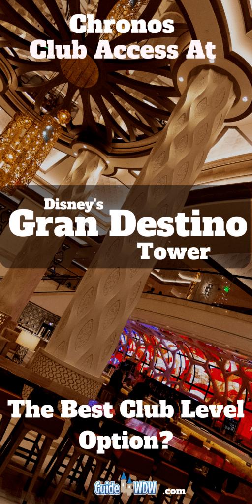 Gran Destino Tower Club Level Pin