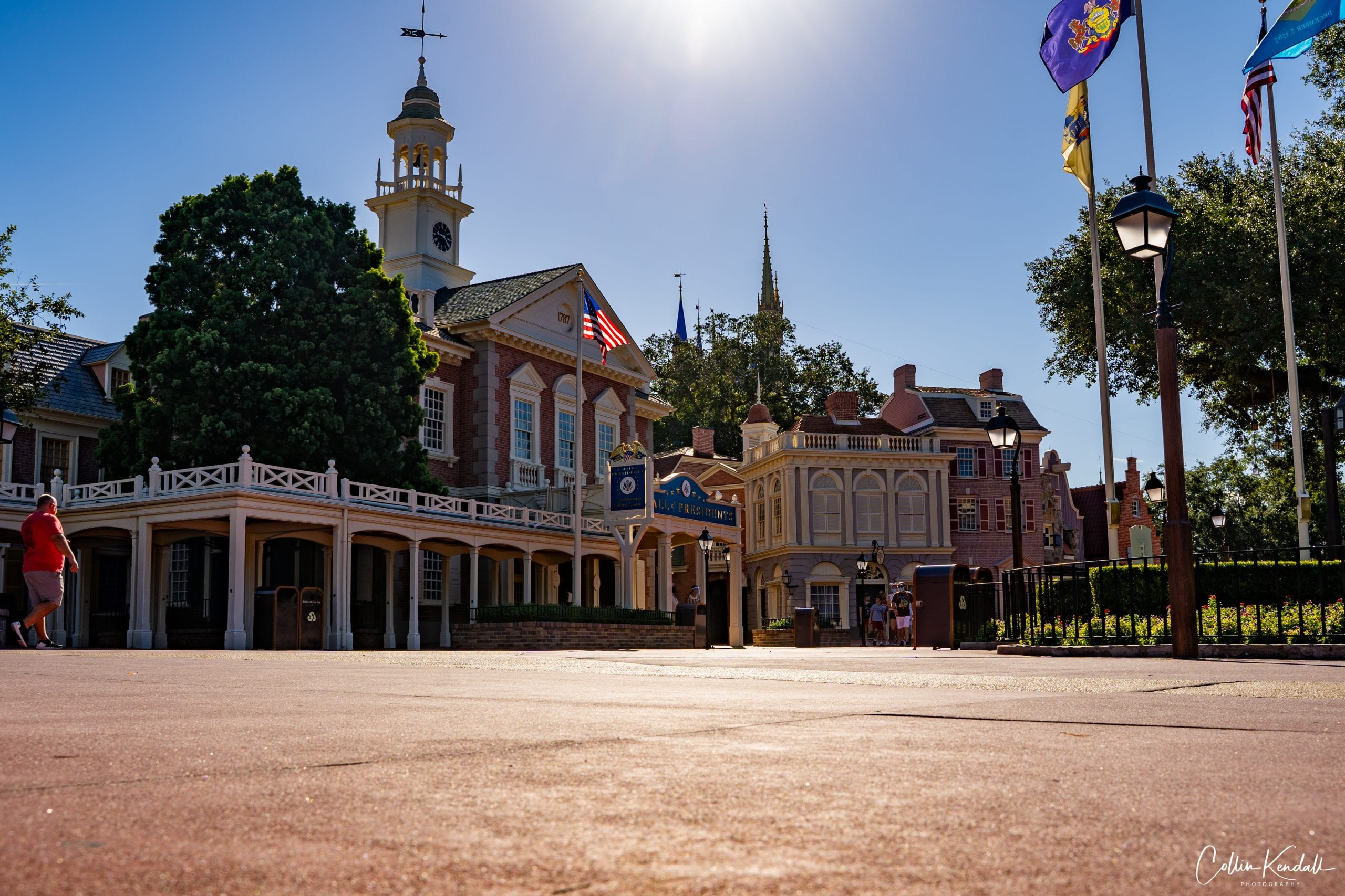 Liberty Square during COVID 19
