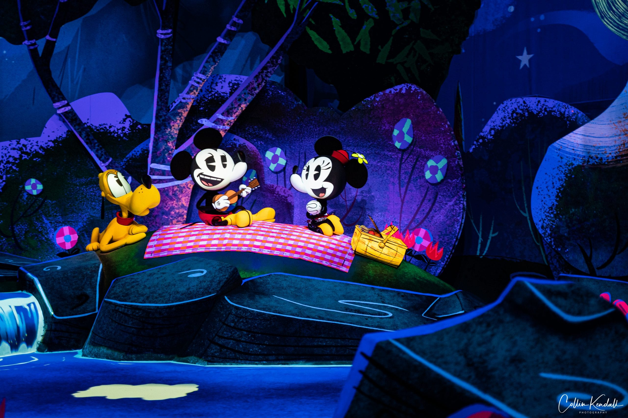 Mickey and Minnie Runaway Railway during COVID
